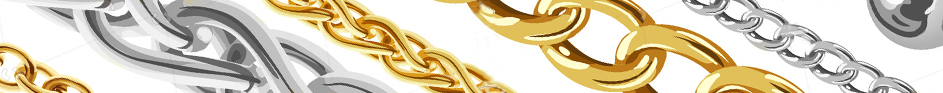 Cadenas oro y plata