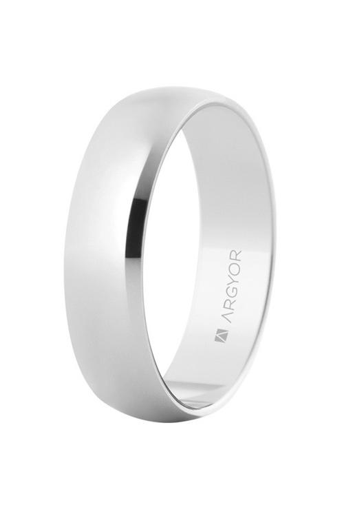 400b49ca9126 Alianza boda en oro blanco 9K brillo 045 9K5B505