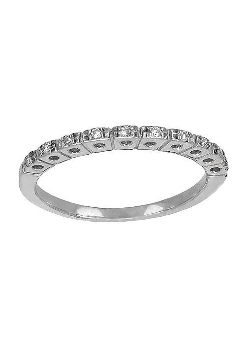 ff356f6d9a7d Anillo ajustador de oro blanco 18 ktes con diamantes