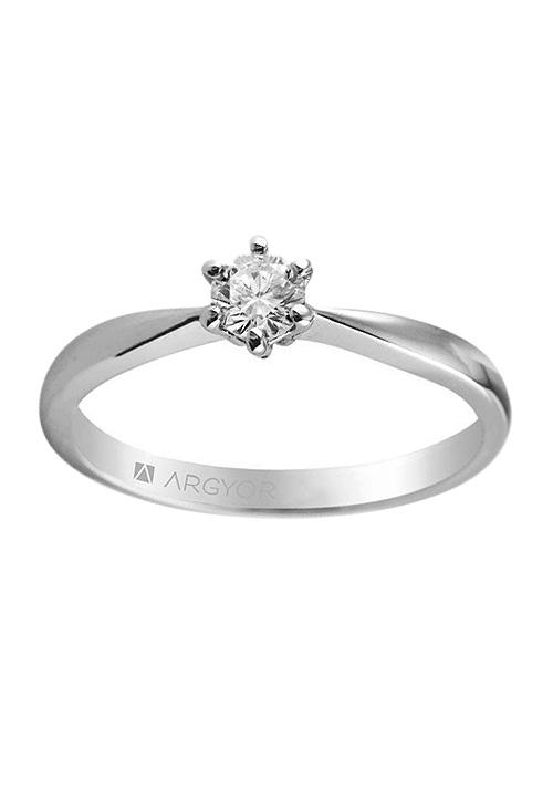 52c2ee73bad8 Anillo compromiso solitario oro 18k y diamante 045 74B0016