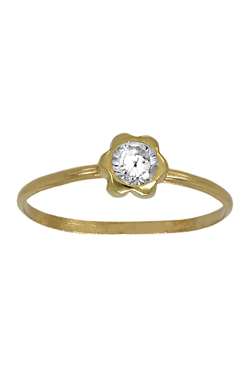 5e1e993291ff Anillo de oro para niñas 052_30153-4