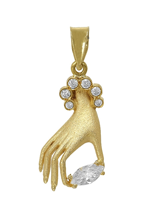 ce3b02998694 Colgante mano de mujer oro 18 ktes 038_LO-058-12MY1