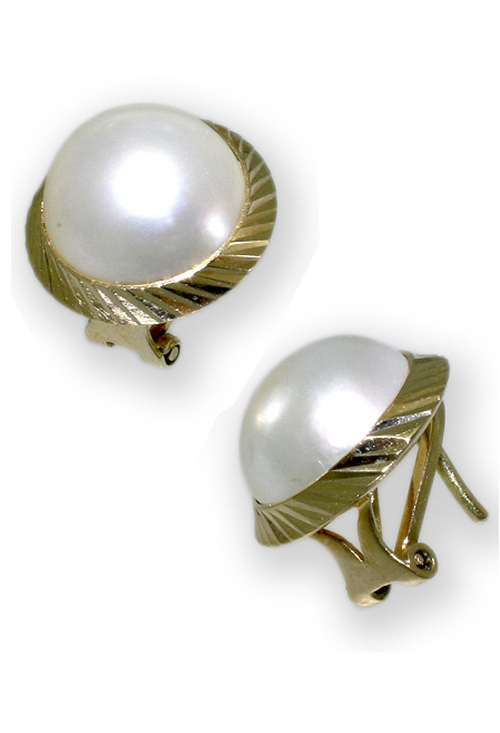 79a63087c296 Pendientes de oro 18 K con perlas japonesa a precio de ocasión LO-028-13AM6