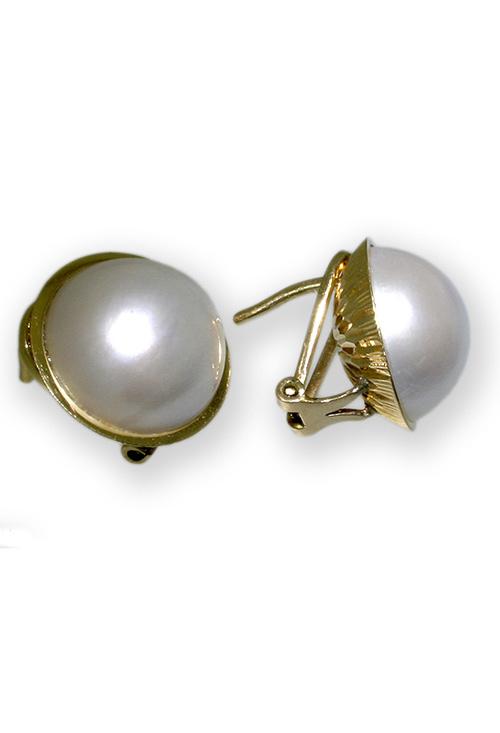 67890f2d2e1a Pendientes de perlas japonesas y oro 18K