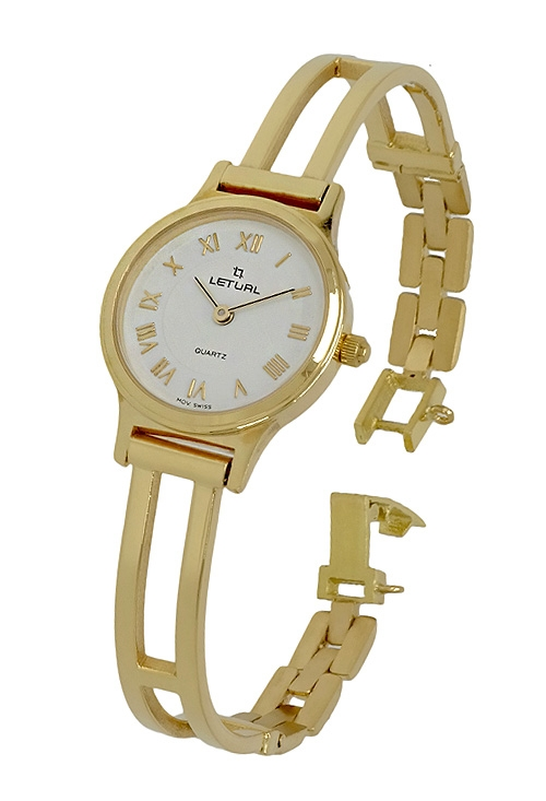 reloj de oro 18 kilates para mujer marca leltual venta online f63cadd67d9c