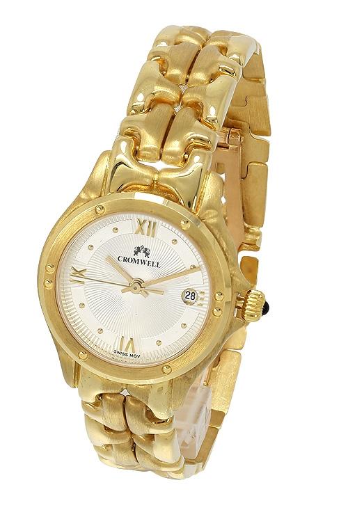 839dd06f0281 Reloj de oro amarillo 18 kilates marca Cromwell para mujer 412478 venta  online