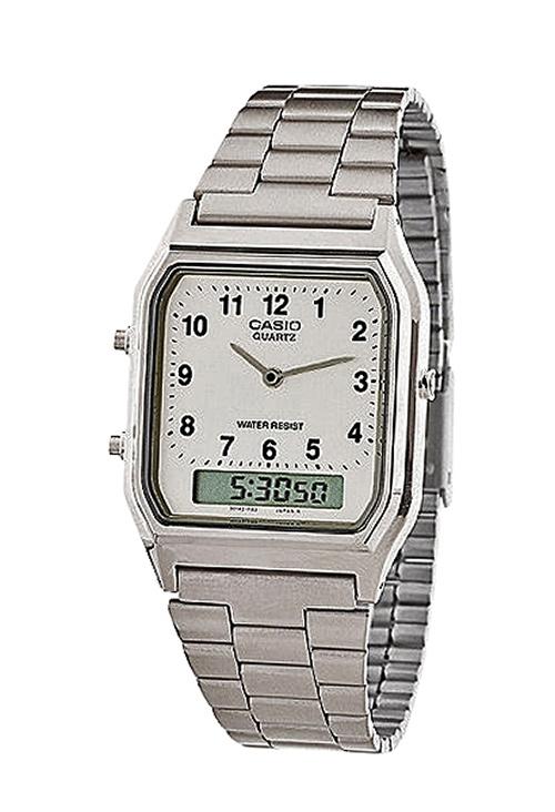 149ca918f887 Reloj Casio retro analógico y digital 075 AQ-230A-7BM