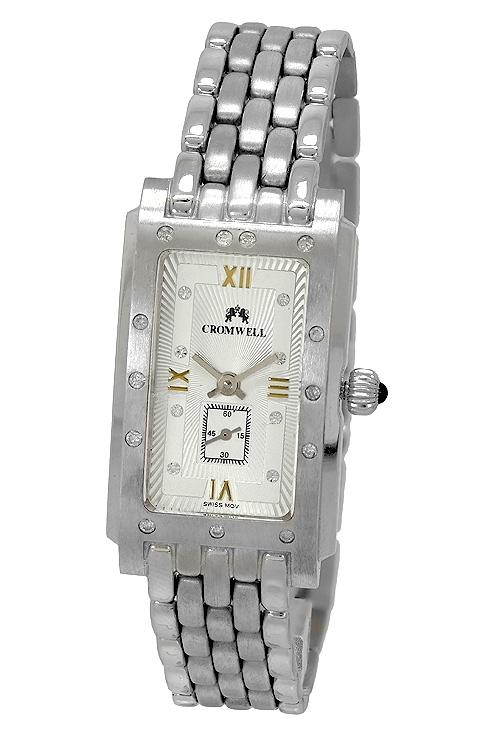 67bc2f938a57 Reloj mujer oro blanco 18K y diamantes marca Cromwell 408005
