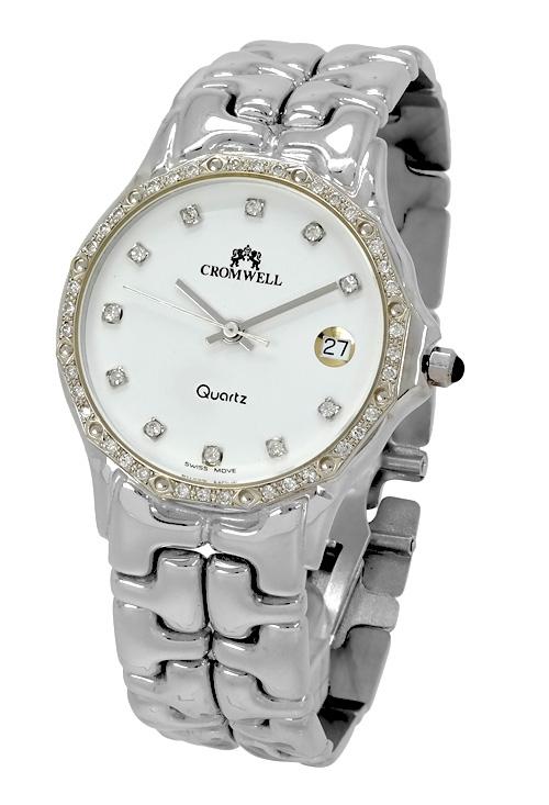 f1ab1f7b8a8e Reloj joya oro blanco18K y diamantes marca Cromwell 393595