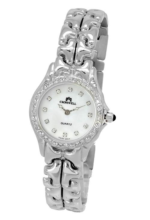 e36a0de716f9 Reloj joya oro blanco 18K y diamantes marca Cromwell 283507