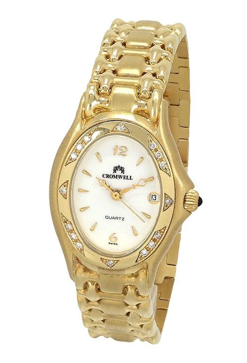 59cb409d4479 Reloj oro amarillo con diamantes para mujer Cromwell precio especial online  394114