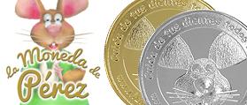 Monedas Ratoncito Peréz