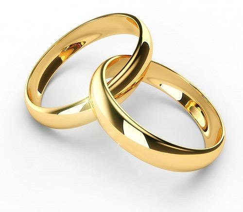 salida online rendimiento superior colores delicados Alianzas de boda de oro, plata y titanio | El Rubi