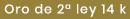 Colgante oro 14 ktes para collar de perlas